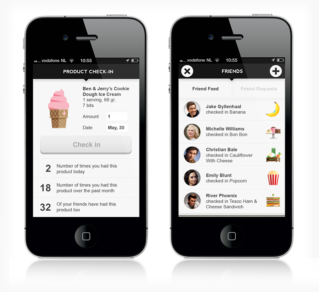 New Foodzy apps for iOS and Android