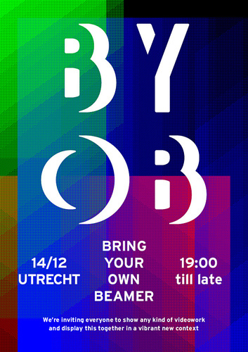 Bring Your Own Beamer Utrecht Flyer